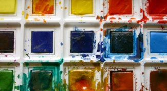 Как передать настроение через краски