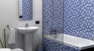 Как украсить стены в ванной мозаикой