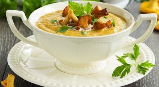 Готовим сливочный тыквенный суп