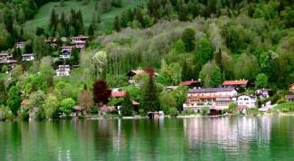 Красивые места Германии: озеро Тегернзее