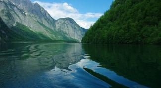 Удивительные места Германии: озеро Кёнигзее
