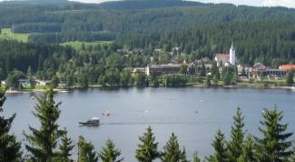 Красивые места Германии: озеро Титизее