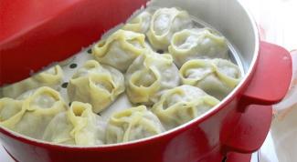 Options of fillings for dumplings