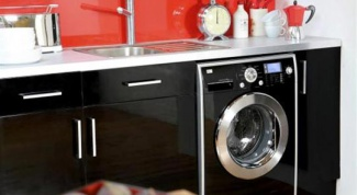 Плюсы и минусы стиральной машины на кухне