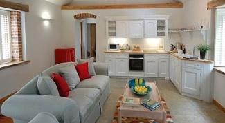 Выбираем диван для кухни