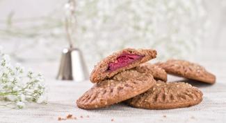 Как приготовить вишневое шоколадное печенье