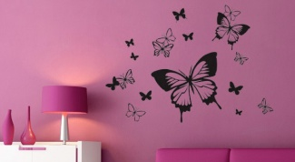Как быстро оживить комнату: интерьерные наклейки