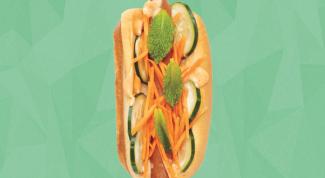 Готовим вьетнамский хот-дог