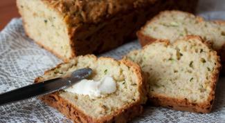 Как приготовить кабачковый хлеб