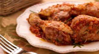 Охотничий рецепт приготовления курицы