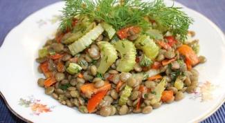 Теплый салат Чи-чи