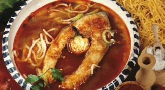 Суп с карпом по-венгерски