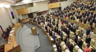 Федеральное собрание как парламент