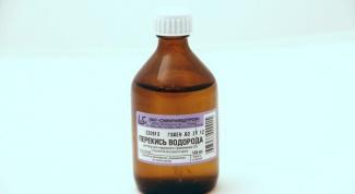 Перекись водорода как антисептик