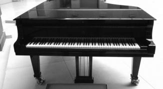 Рояль как музыкальный инструмент
