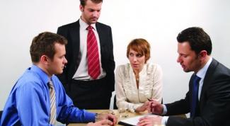 Переговоры как решение конфликта