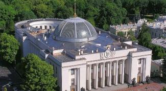 Украина как президентско-парламентская республика