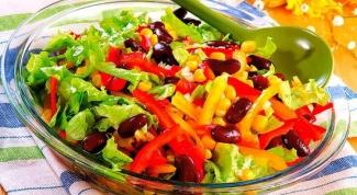 Как приготовить салат с перцем в 2017 году