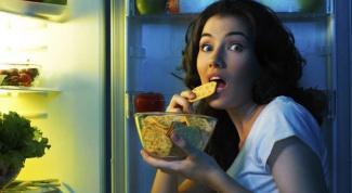 Как перестать есть вечером