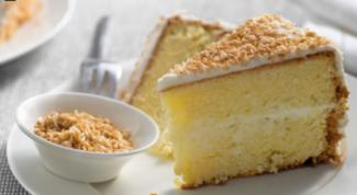 Как приготовить легкий торт «Баунти»