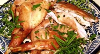 Классический рецепт жареного зайца