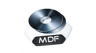 Какая программа для файла mdf