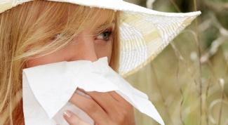 Какая трава помогает от аллергии