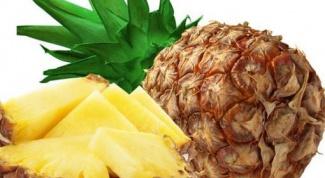 Как похудеть от ананаса