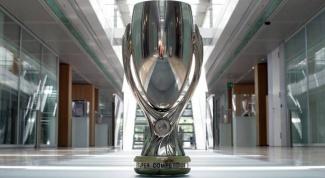 Какие футбольные команды сыграют за Суперкубок УЕФА в 2014 году