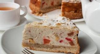 Миндальный пирог с рикоттой