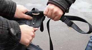 Как не стать жертвой ограбления