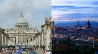 Как доехать от Рима до Флоренции