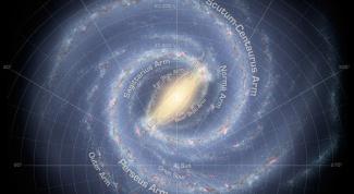 Как солнце движется по галактике
