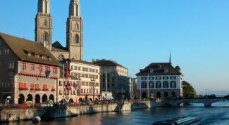 Что за город Цюрих