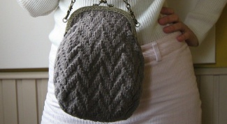 How to knit a bag: a master class