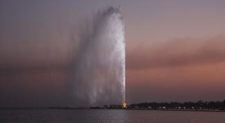 Какой фонтан самый высокий в мире