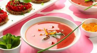 Как приготовить суп из свеклы с апельсинами