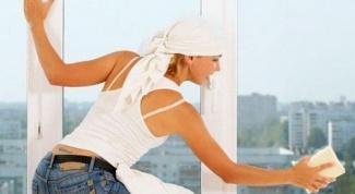 Как вымыть окна до блеска