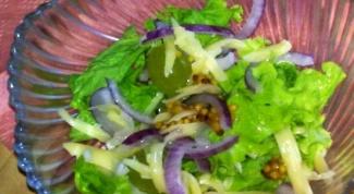Готовим салат с виноградом