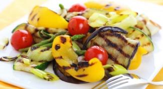 Готовим гриль-салат