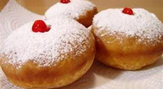 Пончики с абрикосами