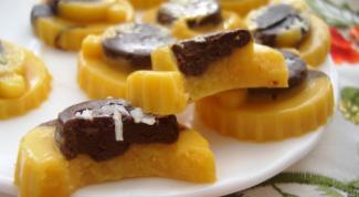 Как приготовить желейные конфеты с тыквой и шоколадом