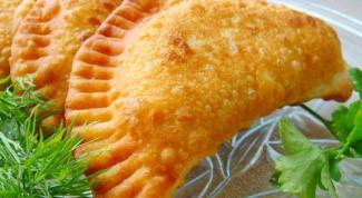 Как приготовить тыквенные чебуреки с курицей и грибами
