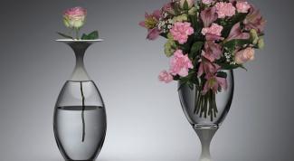 Как отмыть вазу с узким горлышком