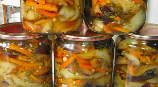 Готовим зимний салат из баклажанов