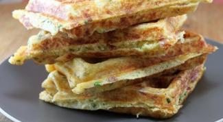 Хрустящие сэндвичи из сырных вафель