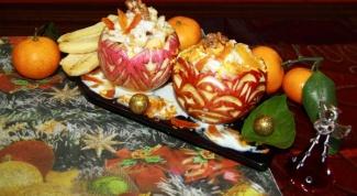 Яблочно-ореховый десерт в баночках
