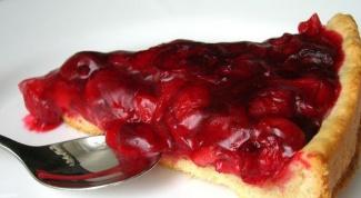 Готовим вишневый тарт