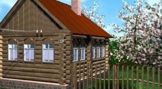 Как сделать теплым деревенский дом