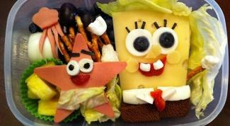Как украсить блюдо для ребенка